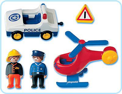 Playmobil 6622 - Rescue Play Set - Back