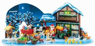 """Playmobil - 6624 - Adventskalender """"Weihnacht auf dem Bauernhof"""""""