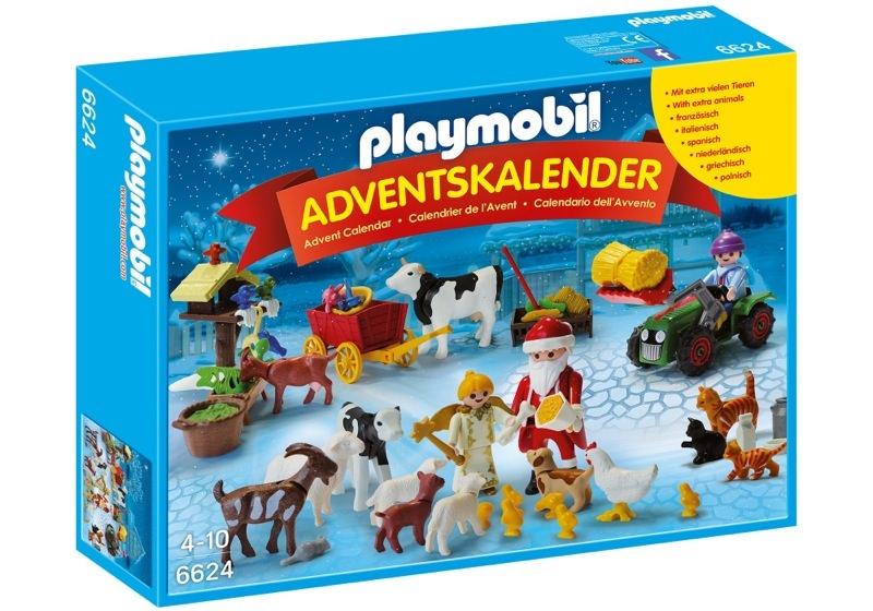 """Playmobil 6624 - Adventskalender """"Weihnacht auf dem Bauernhof"""" - Boîte"""