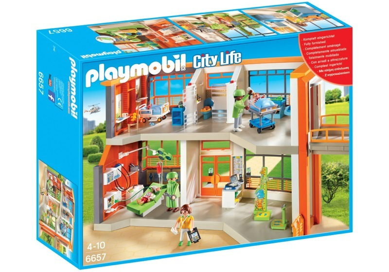 Playmobil 6657 - Children's Hospital - Box