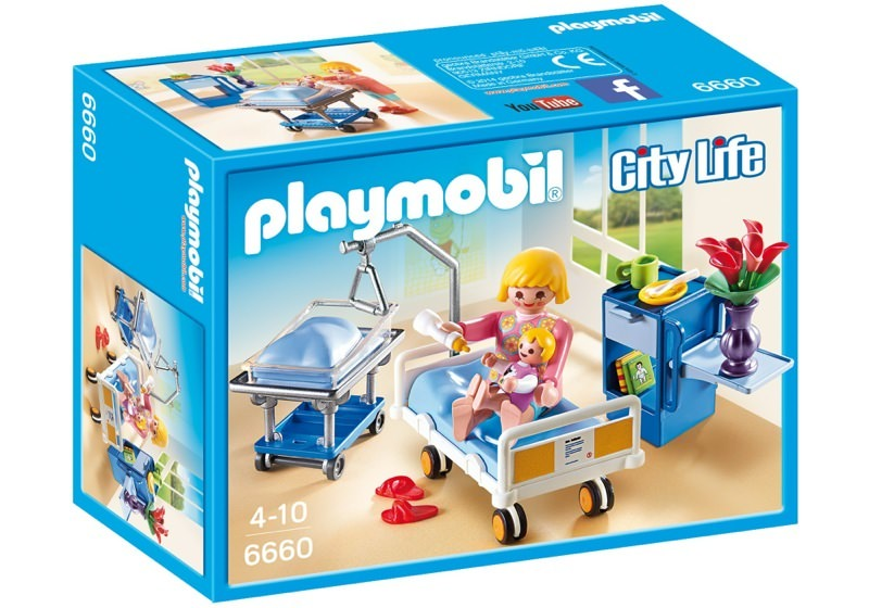 Playmobil 6660 - Maternity Room - Box
