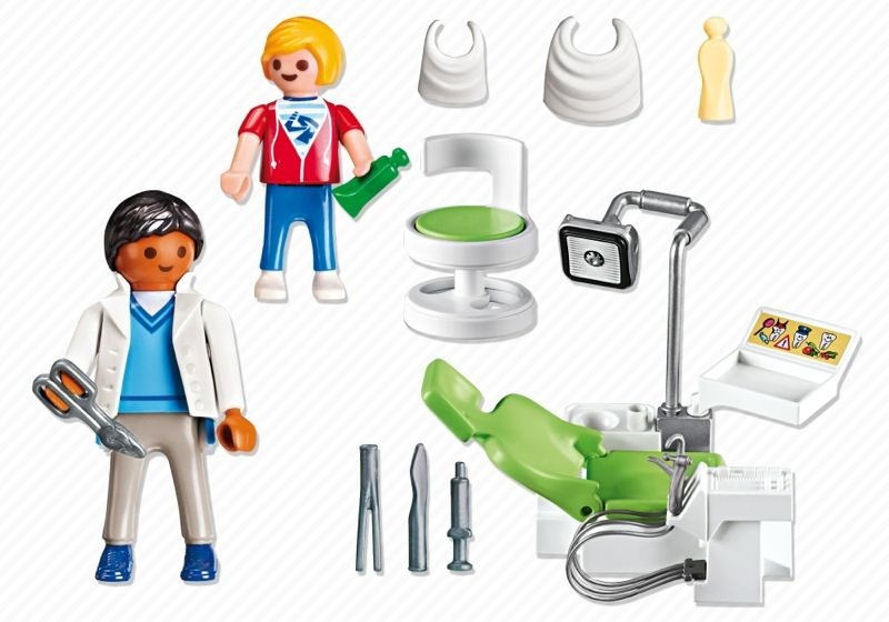Playmobil 6662 - Dentist - Back