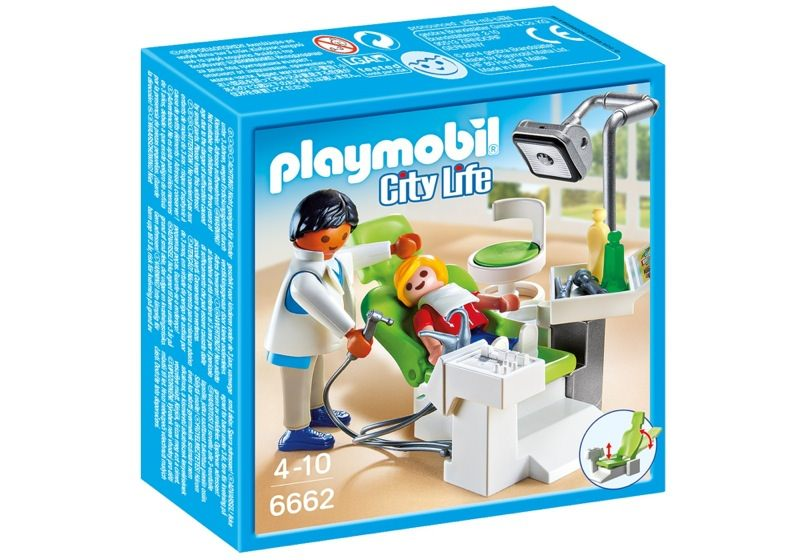 Playmobil 6662 - Dentist - Box