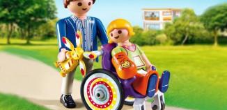 Playmobil - 6663 - Kind im Rollstuhl