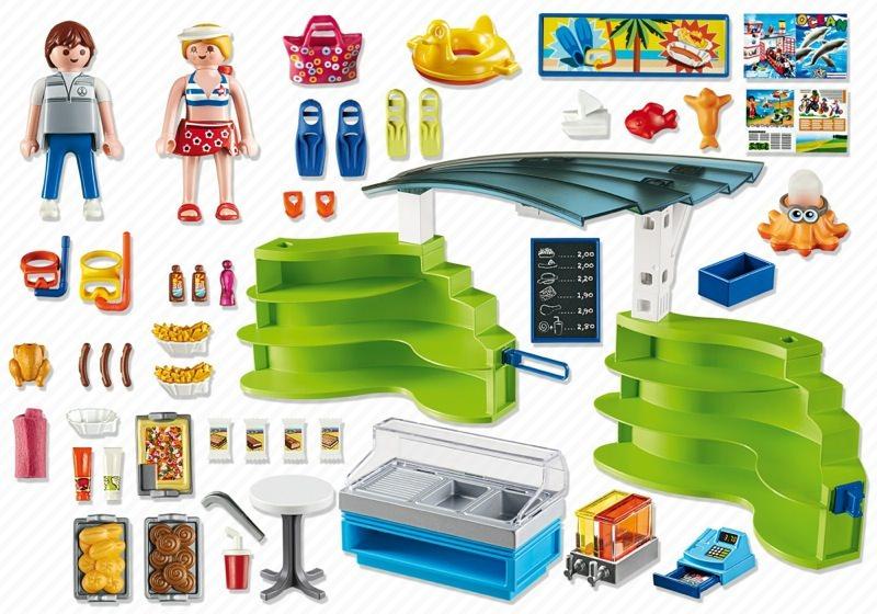Playmobil Espace Boutique Et Fast Food