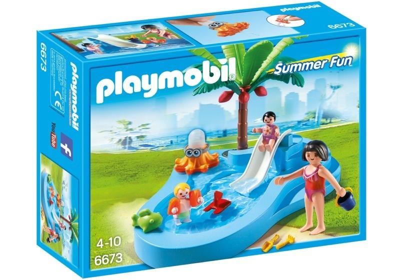 Playmobil Set 6673 Baby Pool With Slide Klickypedia