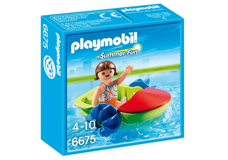 Playmobil 6675 - Fun-Boot - Box