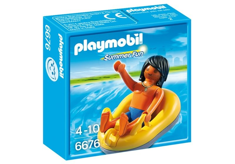 Playmobil 6676 - Rafting-Reifen - Box