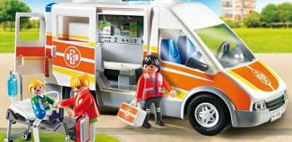 Playmobil - 6685 - Ambulancia con luz y sonido