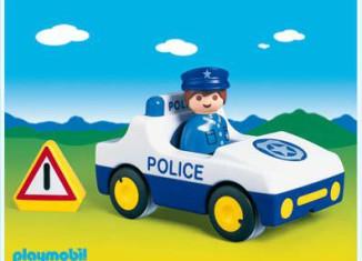 Playmobil - 6737 - 1.2.3 Police Car