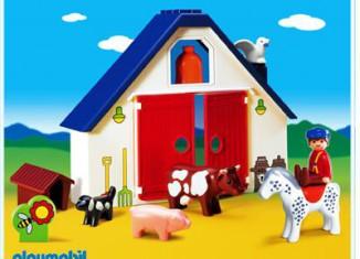 Playmobil - 6740 - 1.2.3 Animal Farm