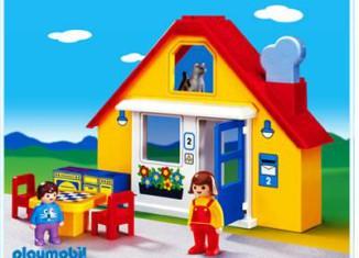 Playmobil - 6741 - 1.2.3 Family`s House