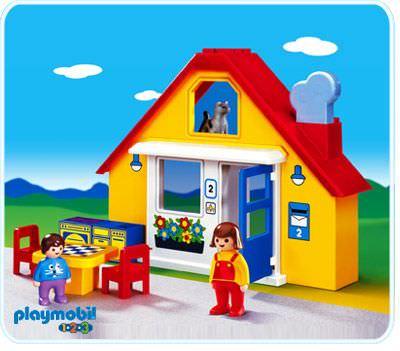 Casa moderna 123 playmobil playmogah 87 playmobil 5302 for Casa moderna playmobil
