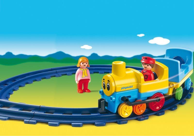 Playmobil set 6760 train klickypedia - Train playmobil ...