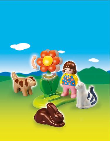 Playmobil Girl With Pets 6763