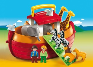 Playmobil - 6765 - My Take Along 1.2.3 Noah's Ark