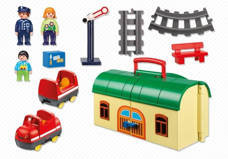 Playmobil 6783 - Meine Mitnehm-Eisenbahn - Zurück