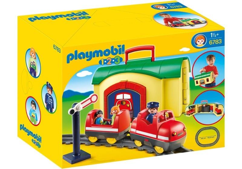 Playmobil 6783 - Meine Mitnehm-Eisenbahn - Box