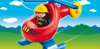 Playmobil - 6789 - Fire Rescue Helicopter