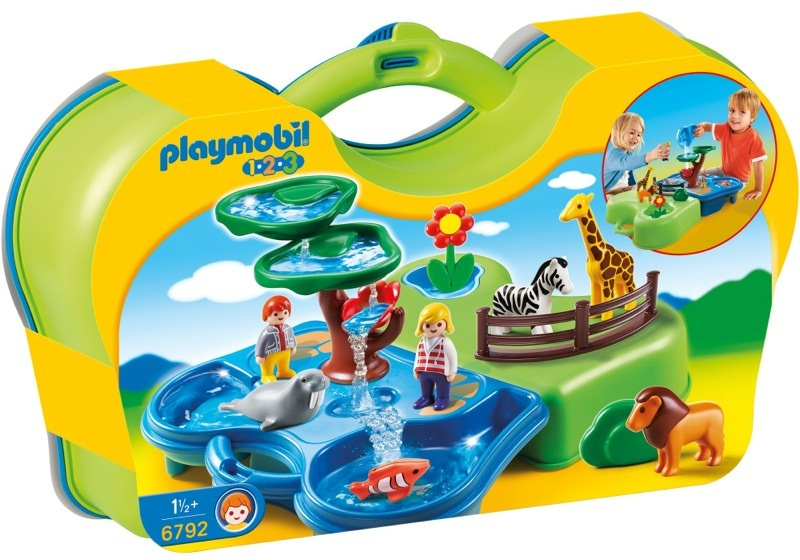 Playmobil 6792 - Take Along Zoo & Aquarium - Box