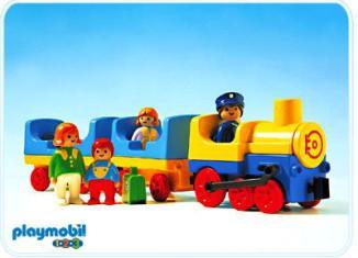 Playmobil - 6900 - Passenger Train / No Tracks