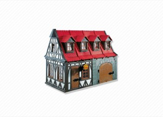 Playmobil - 7145 - Medieval House with Barn