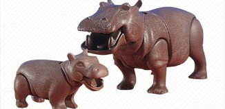 Playmobil - 7220 - Hippo with Calf