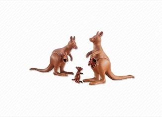 Playmobil - 7226 - 2 Kangaroos with 2 Joeys
