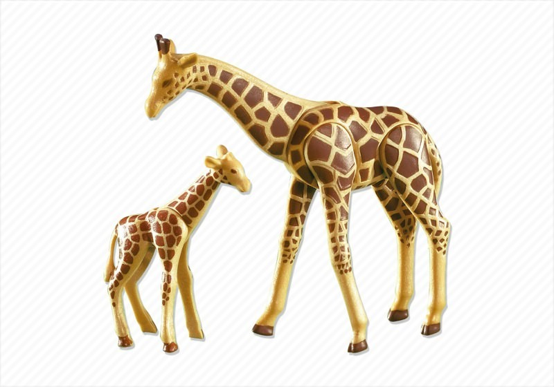 Playmobil Set 7364 Giraffe With Baby Klickypedia