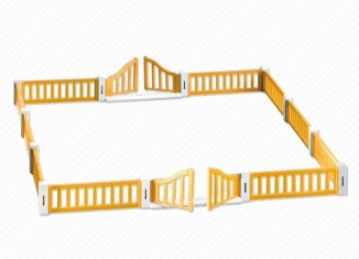 Playmobil - 7370 - Animal Nursery Fence