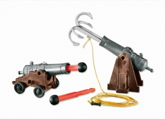 Playmobil - 7373 - 2 cannons with a grappling hook