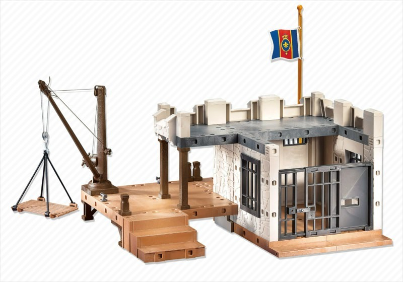 Playmobil - 7376 - soldiers fortress