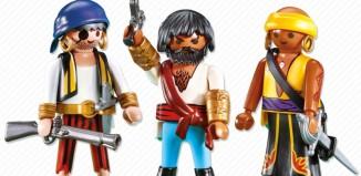 Playmobil - 7381 - 3 pirates