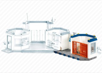 Playmobil - 7393 - Police Station Extension - Prison Cell