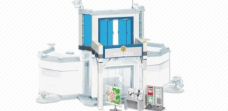 Playmobil - 7394 - Front Extension for Police Station