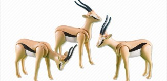 Playmobil - 7397 - 3 Gazelles