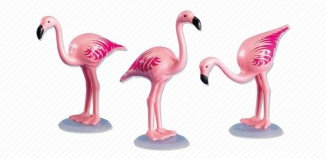 Playmobil - 7432 - 3 Pink Flamingos