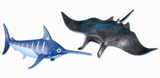 Playmobil - 7434 - Manta Ray and Swordfish