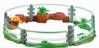 Playmobil - 7476 - Zoo Fencing