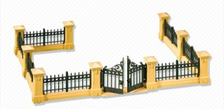 Playmobil - 7477 - Mansion Fencing