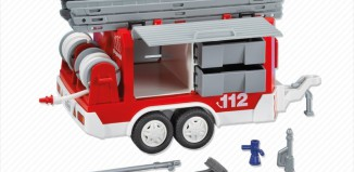Playmobil - 7485 - Fire Trailer