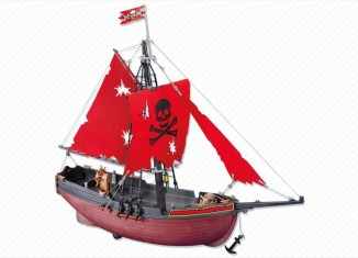 Playmobil - 7518 - red corsair schooner