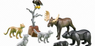 Playmobil - 7530 - North American Forest Animals