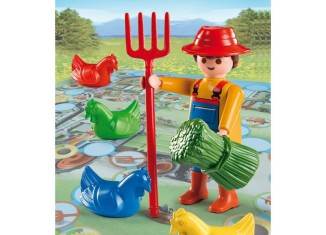 Playmobil - 7540 - Chicken Farm Game