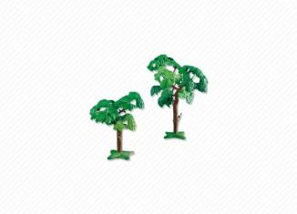 Playmobil - 7632 - 2 Broad-Leafed Trees