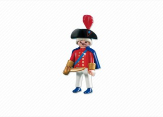 Playmobil - 7676 - english redcoat captain
