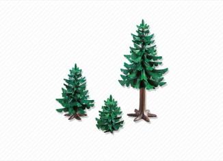 Playmobil - 7725 - 3 Pine Trees
