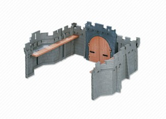 Playmobil - 7836 - Wall Extension B for Kings Castle