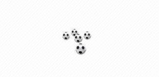 Playmobil - 7839 - 5 Footballs