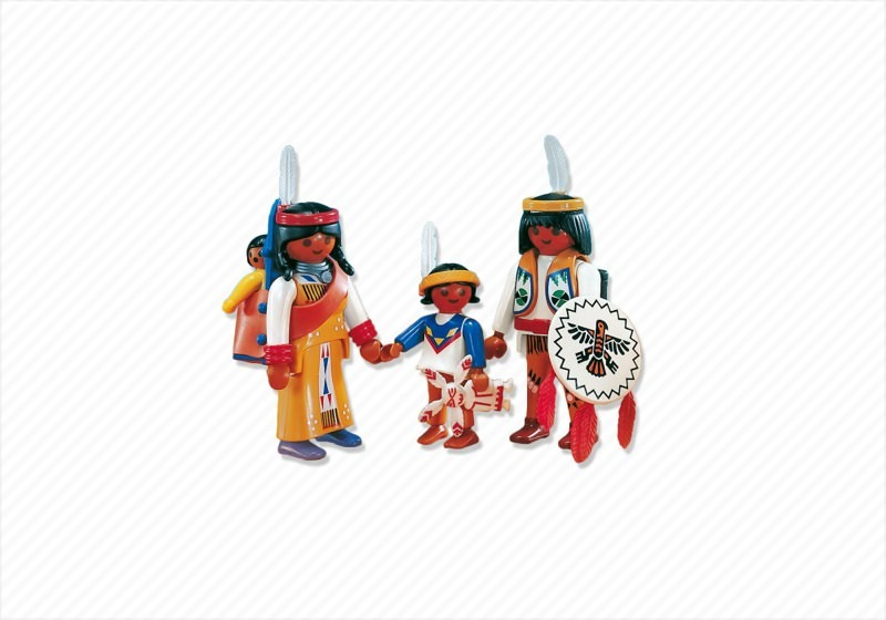 Playmobil x3 necklaces necklace necks indigenous Indians Indigenous Indian west